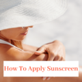 applying-sunscreen